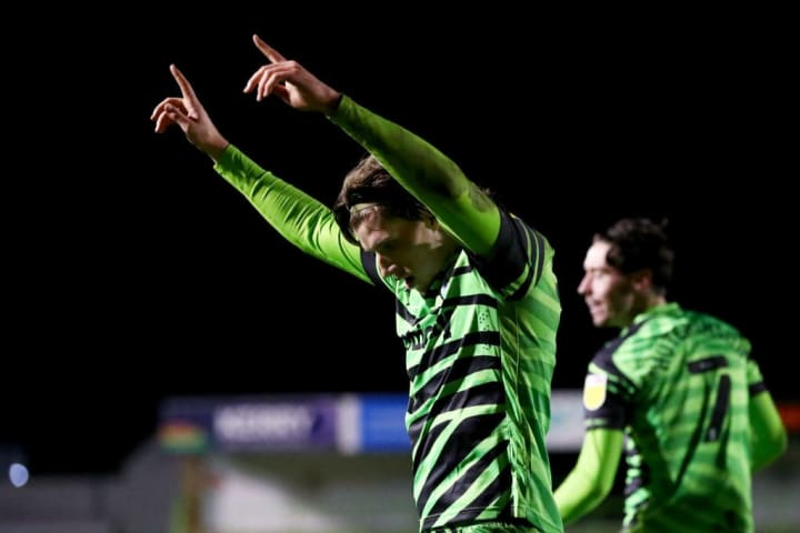 Forest Green Rovers and Player Layer release kit made out of coffee