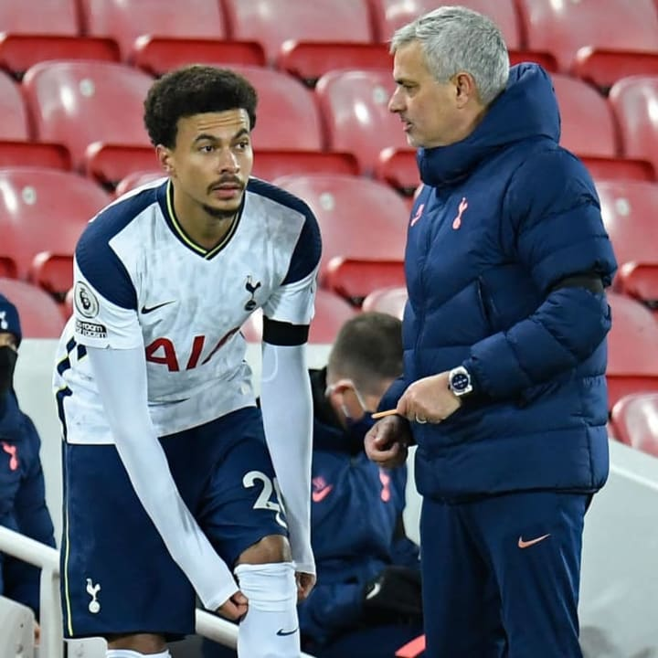 Jose Mourinho admits it is 'amazing' to have Dele Alli back in the squad