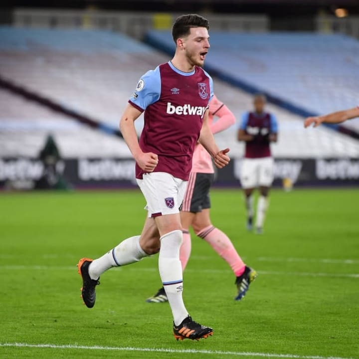 Manchester United could offer fringe players in potential deal for Declan Rice