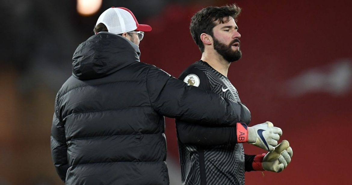 Alisson opens up on 'beloved' father with Klopp willing to lose goalkeeper