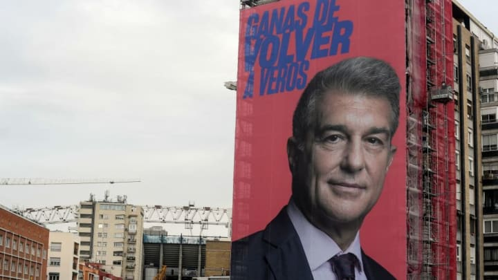Who are the final three Barcelona presidential candidates?