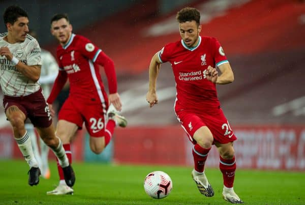 """Diogo Jota """"looking sharp"""" as Liverpool hope he can """"make up for lost time"""""""