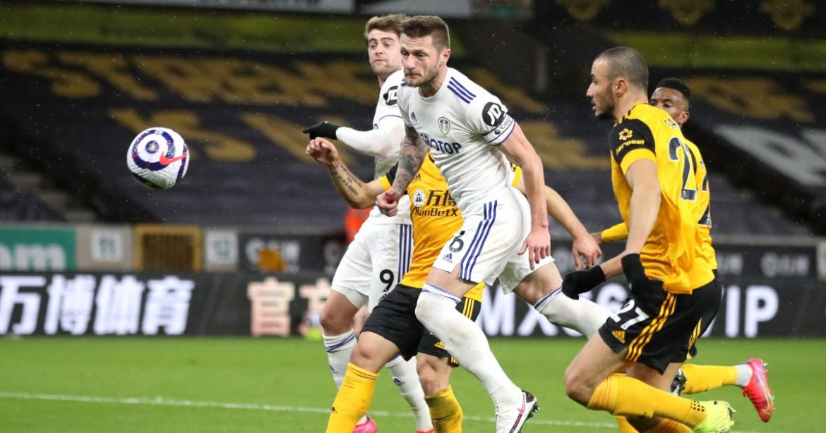 Wolves end unwanted record as Leeds downed by fluke own goal