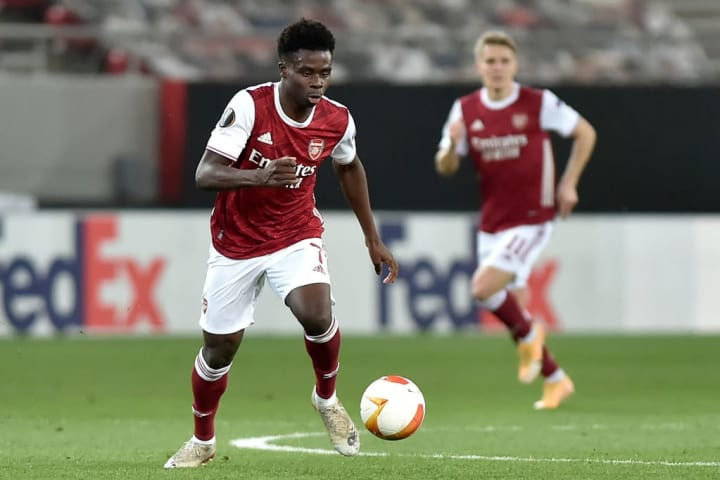 Mikel Arteta says Bukayo Saka will be rested 'at some point' to prevent burnout