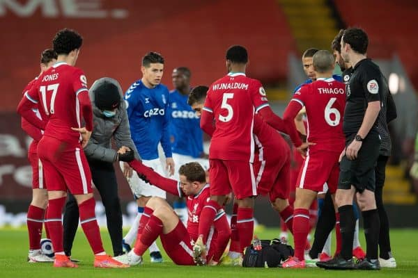 """Andy Robertson admits injury crisis has left him worrying """"am I going to be next?"""""""