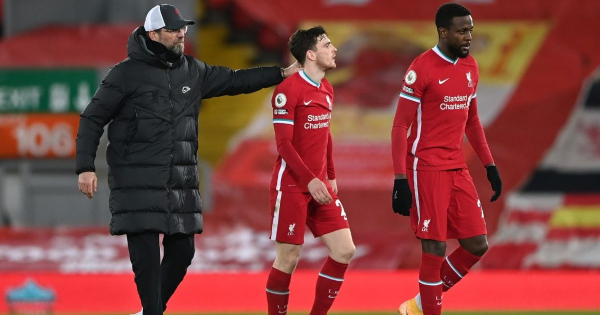 Robertson raves about Liverpool man who has had team-mates beaming