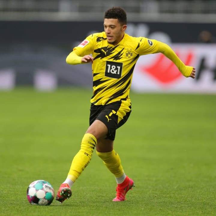 Jadon Sancho becomes youngest ever player to record 50 Bundesliga assists