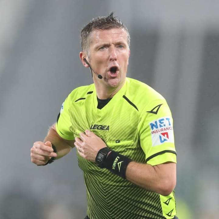 Italian referee to become first official to explain decisions on live TV