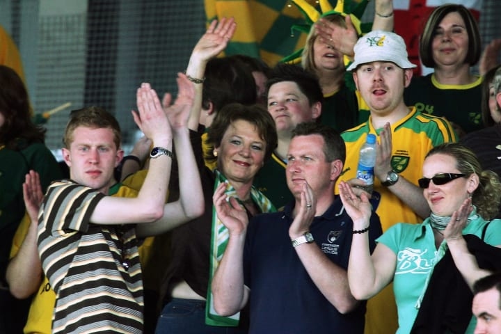 Remembering Delia Smith's iconic 'Let's be 'avin' you!' half-time rant
