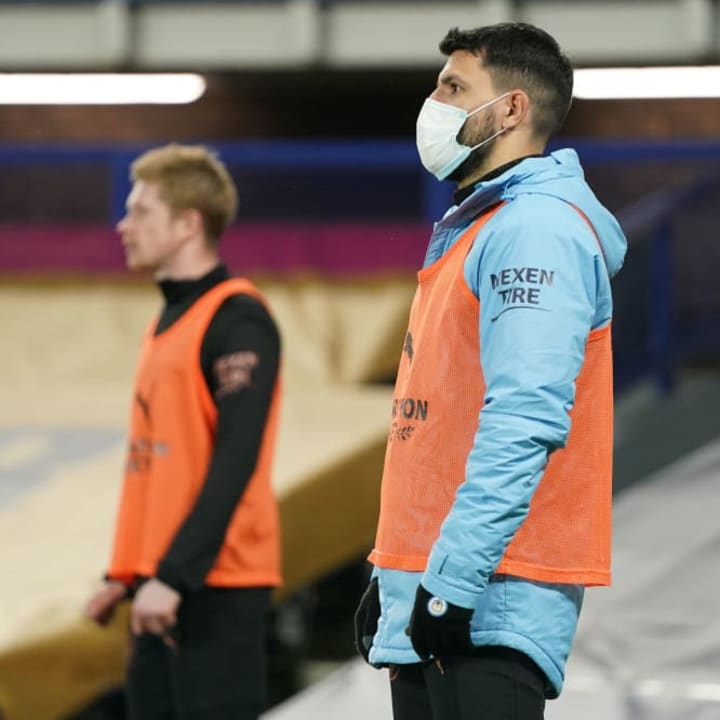 Sergio Aguero delivers update on his Manchester City future