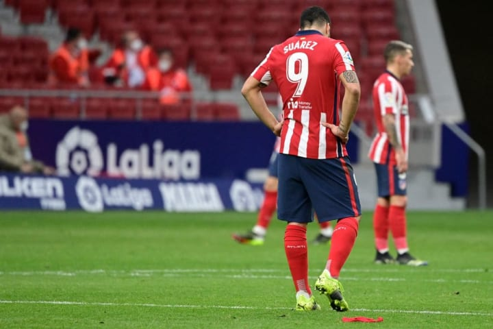 Atletico Madrid blow title race wide open with shock defeat to Levante