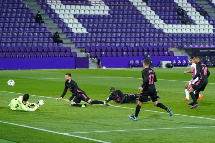 Real Valladolid 0-1 Real Madrid: Player ratings as Los Blancos narrow deficit in La Liga title race