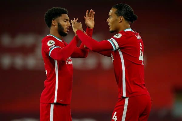 Liverpool's 18 centre-back partnerships – and the ones yet to be used