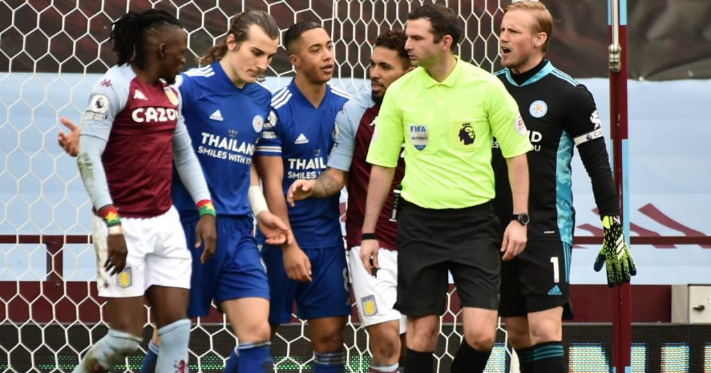 Dominant Leicester up to second as first-half strikes down Villa