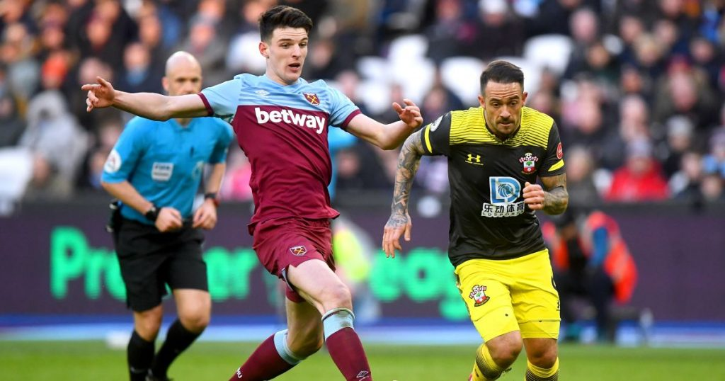 Rice points to key reason West Ham were 'up' for Tottenham clash