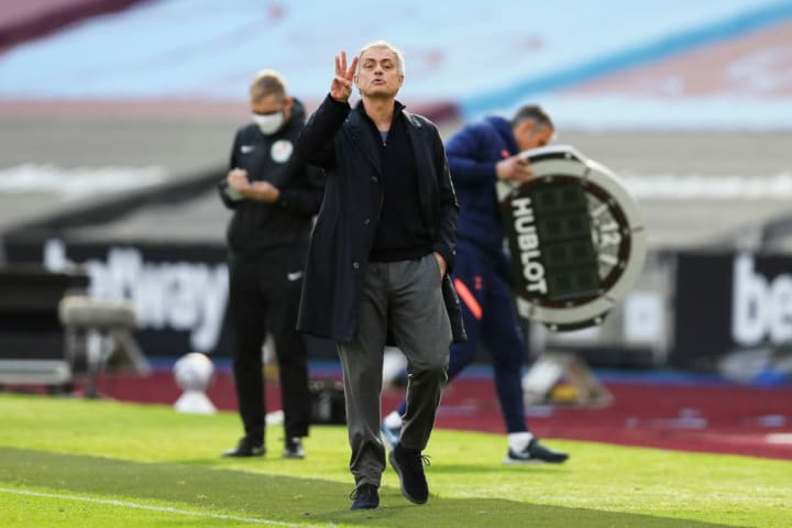 Jose Mourinho 'thanks god' that he's not the manager he once was