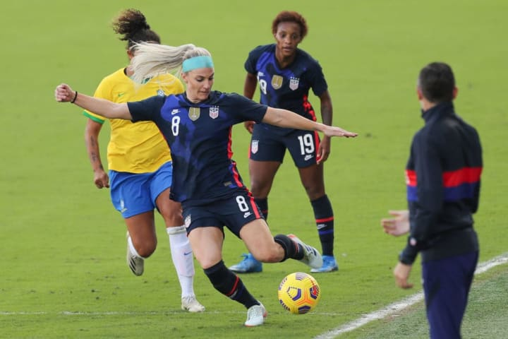 How things stand in the 2021 SheBelieves Cup ahead of final games