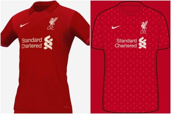 Nike concept kits show how Liverpool FC home, away and third kits could look in 2021/22
