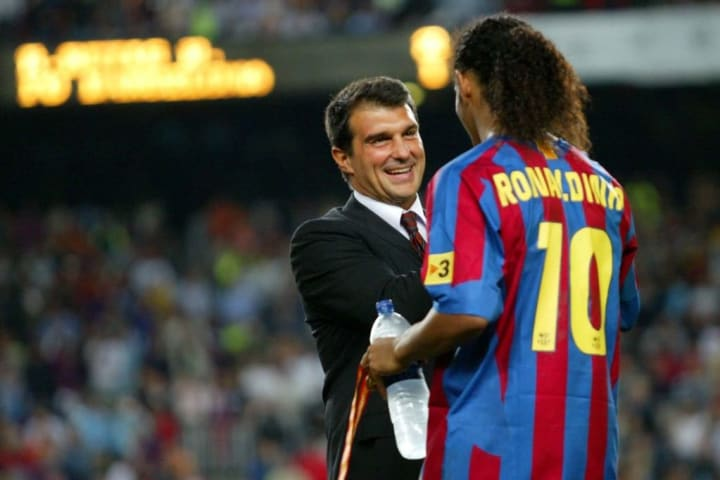 Joan Laporta to become Barcelona president for the second time