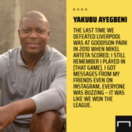 'It was like we won the league' – Ayegbeni on Everton's triumph over Liverpool