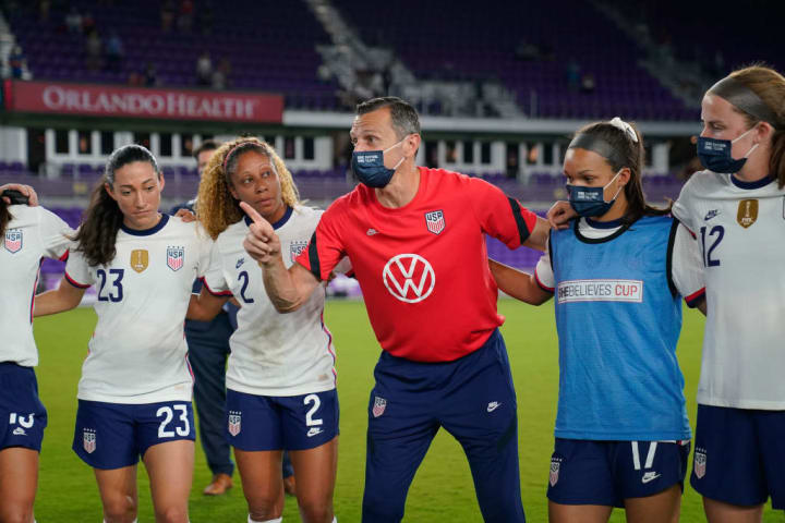 USWNT announce game against Sweden in April