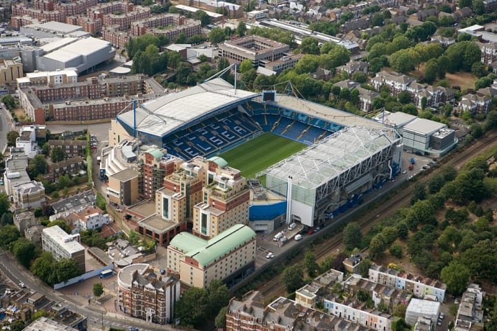 When were Chelsea FC founded & when was Stamford Bridge built?