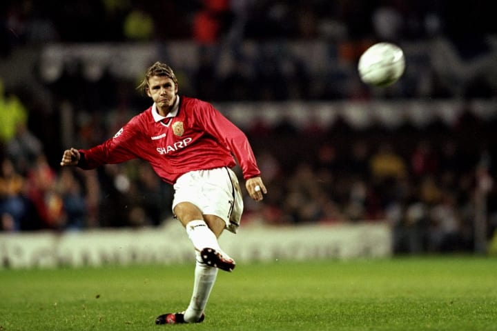When David Beckham returned to Old Trafford with AC Milan