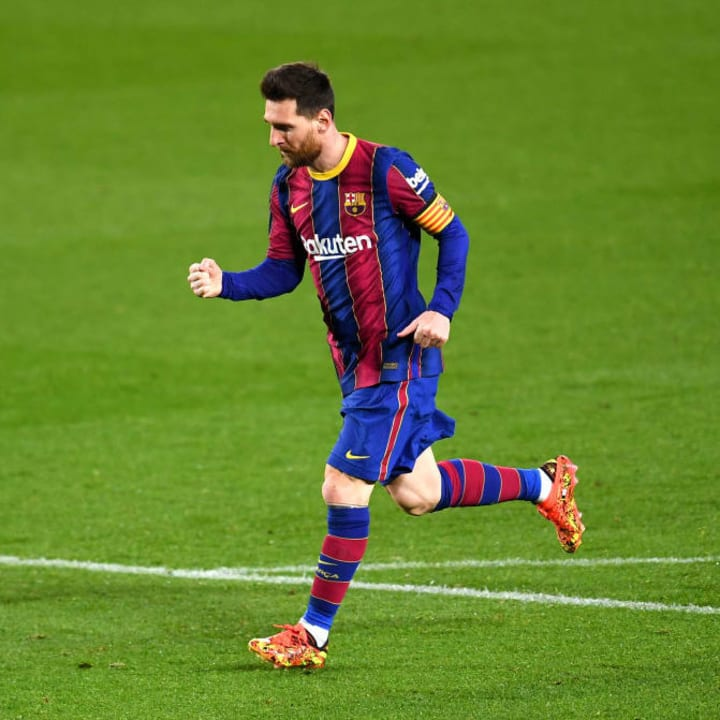 Lionel Messi sends more records tumbling in Barcelona's victory over Real Sociedad