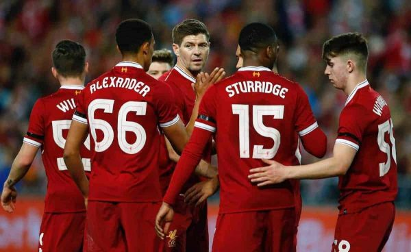 """Gerrard says England dropped their """"best right-back"""" in Trent Alexander-Arnold"""