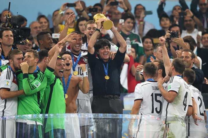 Manuel Neuer says Germany are looking to give Joachim Löw a fitting send off