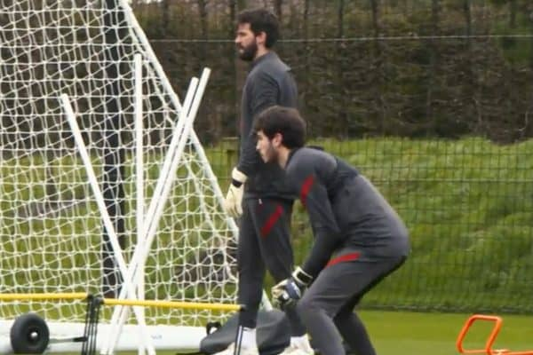 """The teenage Scouser seizing chance to train with the """"best goalkeeper in the world"""""""
