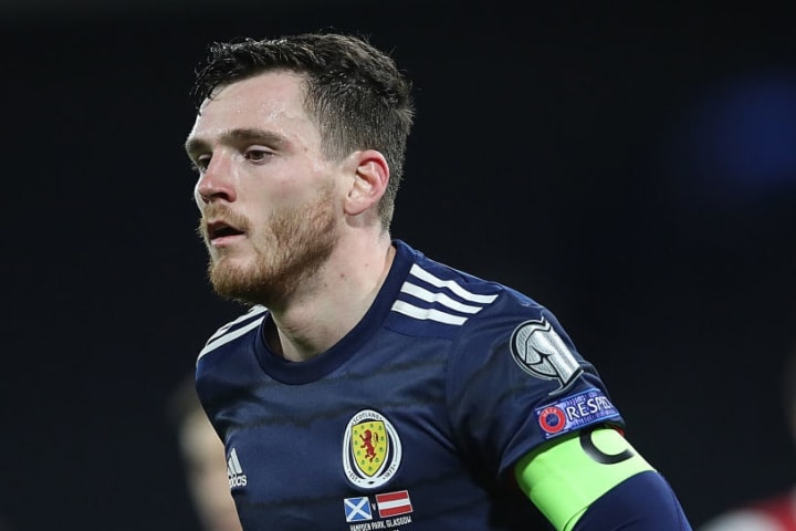 Kieran Tierney and Andy Robertson are thriving together under Steve Clarke
