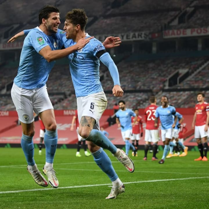 The Manchester City team that should start against Manchester United