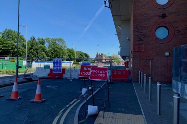 Anfield Road closed off as Liverpool begin work on 7,000-seat expansion