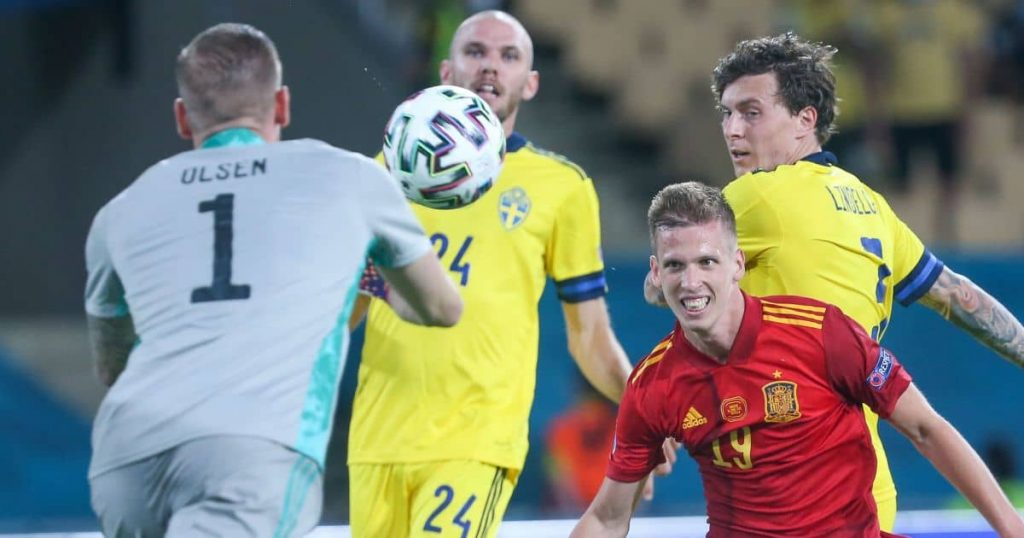 Sweden keep frustrated Spain at bay as Group E clash ends goalless