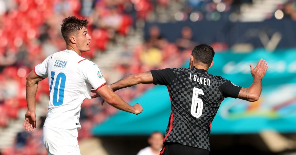 Schick scores again but Czech Republic and Croatia play out Group D draw
